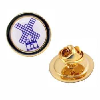 20mm superior gold badge